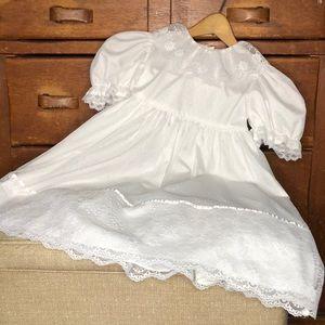 Vintage 1st communion dress